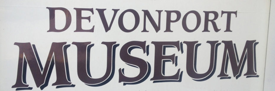 devonport museum sign